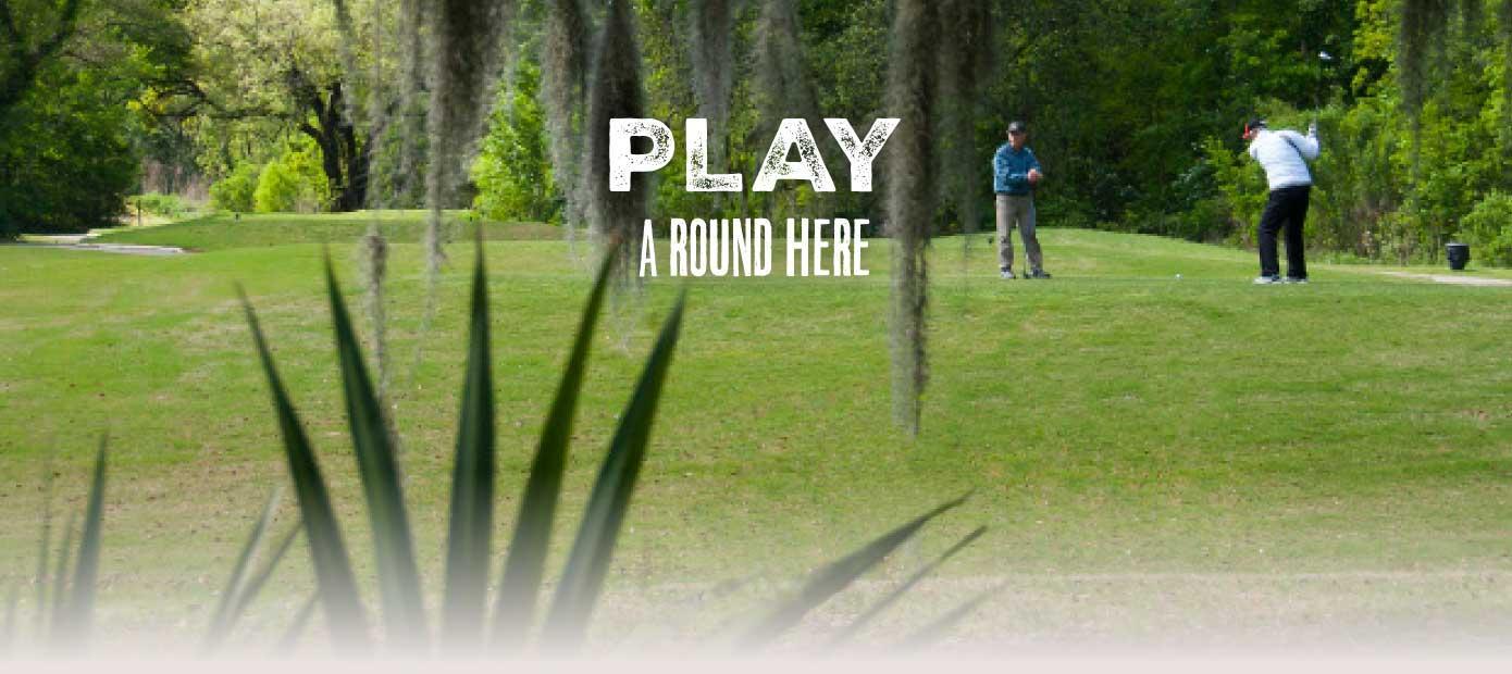 Louisiana's Cajun Coast - Play a round of golf here.